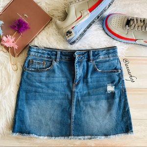 NWOT Zara Girls denim skirt